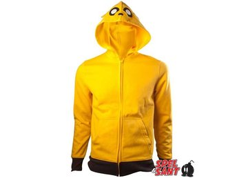 Adventure Time Jake Hoodie Gul (Medium)