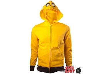 Javascript är inaktiverat. - Norrtälje - Officiellt licensierad Cartoon Network Hoodie med Adventure Time Jake mönster tryck på luvan i form utav hans ansikte på gul hoodie i storlek Medium. Fabric: 100% Cotton - Norrtälje