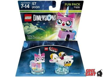 Lego Dimensions The Lego Movie Unikitty Fun Pack 71231