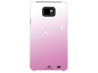WHITE-DIAMONDS Sash Rosa Samsung Galaxy S2 Skal