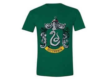 Harry Potter T-shirt Slytherin Crest Grön XXL