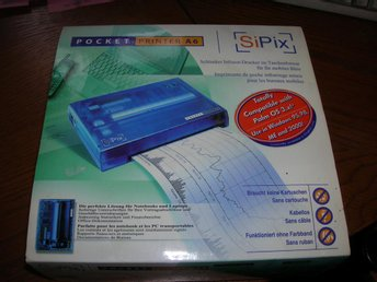 SiPix Miniprinter A6 Mobil thermoskrivare