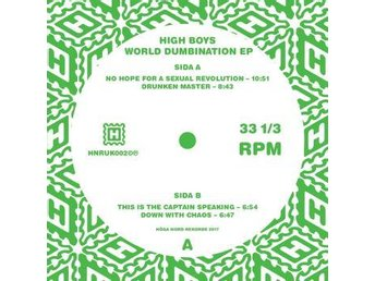 High Boys: World numbination EP (Vinyl 12) Ord Pris 229 kr SALE