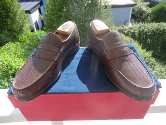 Nya! K Shoes (Royal Warrant) pennyloafers storlek UK 8