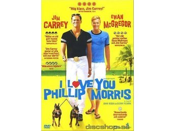 DVD - I LOVE YOU PHILIP MORRIS - NY!