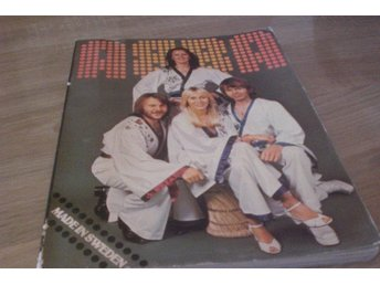 ABBA Rare Book Holland 1977