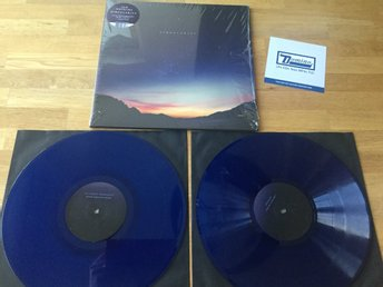2LP+mp3: Jon Hopkins - Singularity (2018 BLÅ SKIVOR downtempo minimal tech house