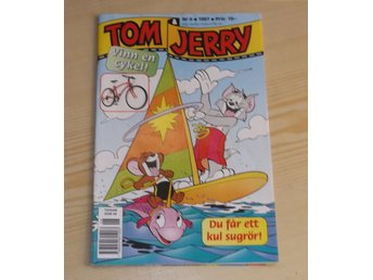 Tidning Tom & Jerry nr 6 1997