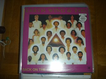 """12"" - Earth Wind & fire - Back on ther road"