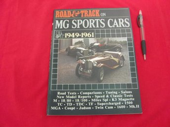 Road&Track On MG Sports Cars 1949-1961