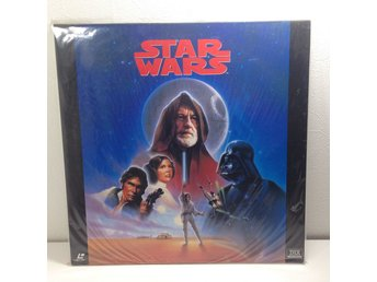 Star Wars (George Lucas, Harrison Ford) Laserdisc 2LD B8-29