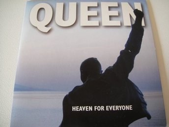 QUEEN Heaven for everyone CD SINGEL TOPPSKICK!!! FREDDIE MERCURY BRIAN MAY