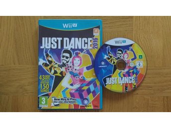Nintendo Wii U: Just Dance 2016