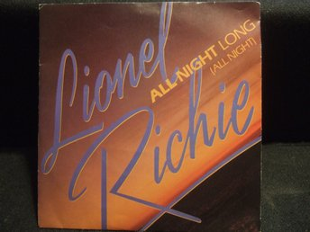 45 - LIONEL RICHIE. All night long (All night)/Wandering Stranger. 1983