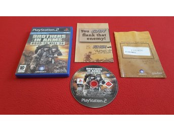 BROTHERS IN ARMS ROAD TO HILL 30 till Sony Playstation 2 PS2