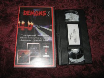 DEMONS 2 (DAVID EDWIN KNIGHT,ASIA ARGENTO) VHS