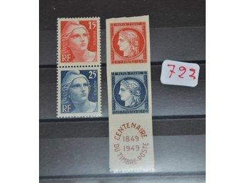Frankrike Postfriskt Block I Folder 351380945 ᐈ Kop Pa Tradera