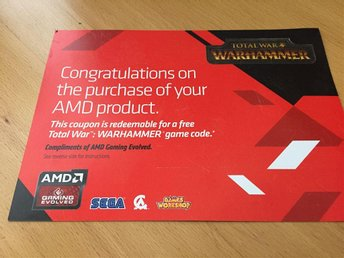 "Total war Warhammer ""CODE"" PC"