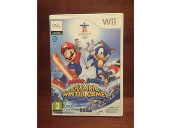 Mario & Sonic at the Olympic Winter Games -  Till Nintendo Wii