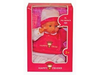 HAPPY FRIEND - TALDOCKA 35 CM Ord pris 299.00:-