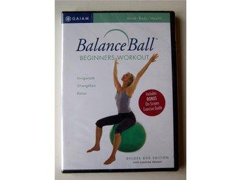 Balance ball beginners work out ballans boll övningar NY DVD Deluxe edition - Torshälla - Balance ball beginners work out ballans boll övningar NY DVD Deluxe edition - Torshälla