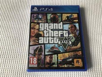 GTA V GTA 5 PS4 NYTT & INPLASTAT PLAYSTATION 4 - Klippan - GTA V GTA 5 PS4 NYTT & INPLASTAT PLAYSTATION 4 - Klippan