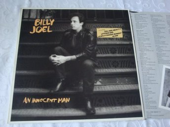 BILLY JOEL - AN INNOCENT MAN LP 1983