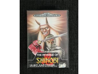 The Revenge of Shinobi (Sega Mega Drive) Komplett!