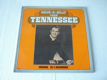 "ROCK-A-BILLY FROM TENNESSEE NL.WHITE LABEL 8806 LP ""Rockabilly"""