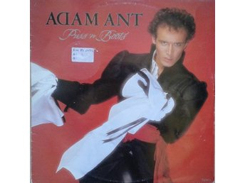 "Adam Ant TITLE* Puss'N Boots* Pop Rock 12"" UK"