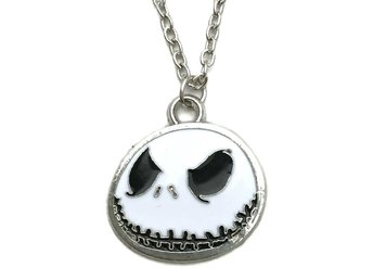 Halsband Nightmare Before Christmas Jack Halloween Kedja