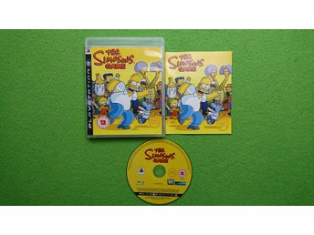 Simpsons Game KOMPLETT Playstation 3 PS3