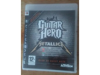 Guitar Hero Metallica till Playstation 3