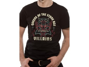 QUEENS OF THE STONE AGE - VILLAINS ( UNISEX)  T-Shirt - Small