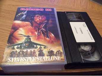 RAMBO III VHS SYLVESTER STALLONE