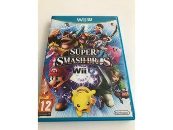 Super smash bros for Wii U Nyskick!