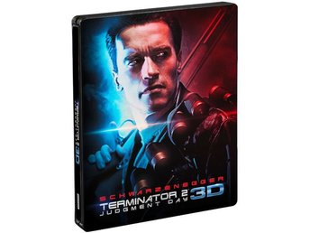 Terminator 2 3D (Includes 2D Version) - Limited Edition Steelbook Blu-ray