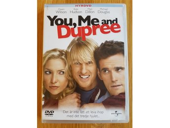 You, Me and Dupree (DVD, komedi/romans)