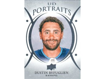 2018-19 Upper Deck UD Portraits P-33 Dustin Byfuglien Winnipeg Jets