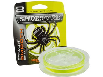 Spiderwire Stealth Smooth 8 0.14mm 150m Yellow.