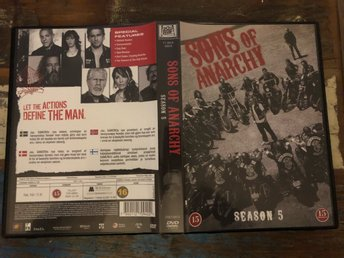 DVD BOX SONS OF ANARCHY Season 5