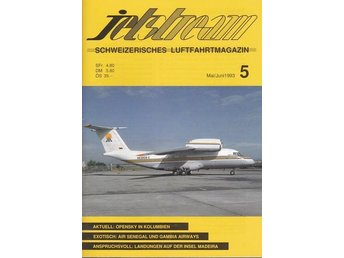 Jetstream - Tyskt magasin rikt illustrerad