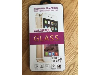 Härdat Glas Skärmskydd iPhone 6 Plus---Glass screen protector 0.3MM, 2.5D