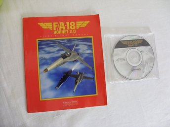 FA 18 Hornet 2.0 Mac CD ROM spel