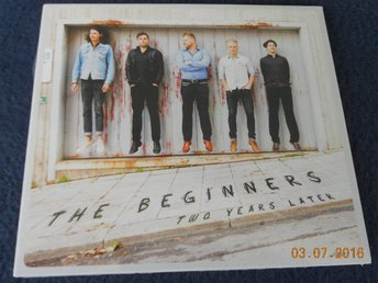 THE BEGINNERS - Two Years Later, CD Prophone Swedish Jazz 2012