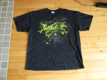 METALLICA a special edition shirt from the rescheduled show in globen 050409.