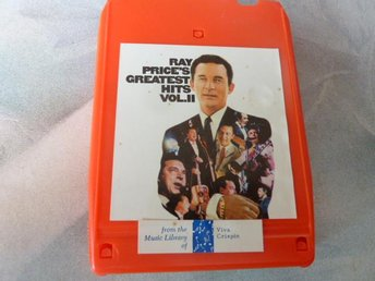RAY PRICE'S, GREATEST HITS  VOL. II,  KASSETTBAND, 8-TRACK