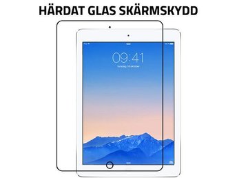 Härdat glasskärmskydd iPad Air 2 transparent