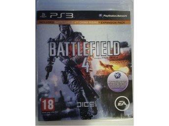 PS3 - Battlefield 4 med China Raising Expansion Pack - Vällingby - PS3 - Battlefield 4 med China Raising Expansion Pack - Vällingby