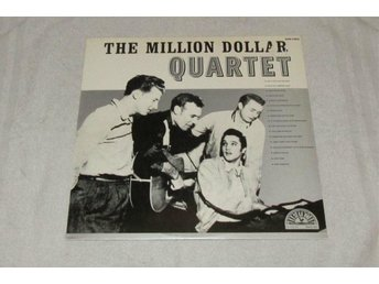 ELVIS PRESLEY - THE MILLION DOLLAR QUARTET 1981 J.CASH, JERRY LEE, C.PERKINS